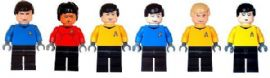 6 Star Trek Figures - Custom Designed Minifigures